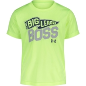 Under Armour Toddler Boys Big League Boss Tee
