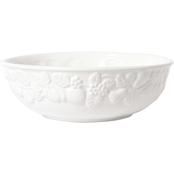 Gibson Home 10 in. Fruit Grace Serving Bowl