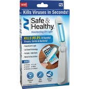 As Seen on TV Safe & Healthy UV-C Sanitizing Light