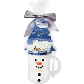 Marketplace Brand Campfire Snowman Mug with Cocoa and Marshmallows