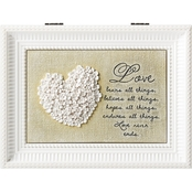 Roman Love White LG Music Box