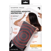 Sharper Image Massaging Weighted Heating Pad