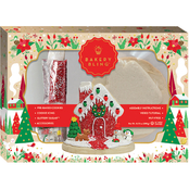 Red & Green Christmas House Cookie Kit 16.93 oz.