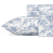 Tommy Bahama Pen And Ink Palm Sheet Set