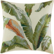 Tommy Bahama Palmiers Green Throw Pillow