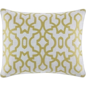Tommy Bahama Palmiers Green Breakfast Pillow