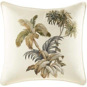 Tommy Bahama Nador Palm Square Throw Pillow