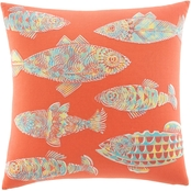 Tommy Bahama Batic Fish Square Pillow
