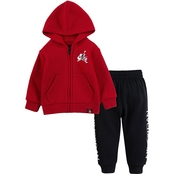 Jordan Infant Boys Jumpman Classics Zip Hoodie and Pants 2 pc. Set