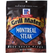 McCormick Grill Mates Monteral Steak Beef Jerky 12 units/ 3 oz. each