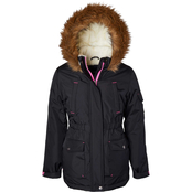 Limited Too Girls Anorak Puffer Jacket with Faux Fur Lining