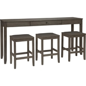 Signature Design by Ashley Caitbrook 4 pc. Counter Dining Set