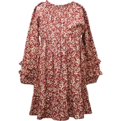 Bonnie Jean Little Girls Challis Dress
