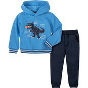 KHQ Toddler Boys 2 pc. Hoodie and Joggers Set
