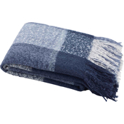 Nautica Large Plaid Blue 50 x 60 in. Throw Blanket