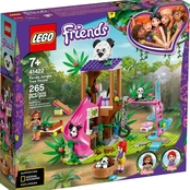 LEGO® Friends Panda Jungle Tree House 41422