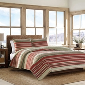 Eddie Bauer Yakima Valley Stripe Quilt Set