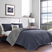 Eddie Bauer Hidden Lake Blue Quilt Set