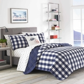 Eddie Bauer Lakehouse Plaid Quilt Set