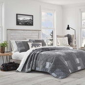 Eddie Bauer Swiftwater Charcoal Quilt Set
