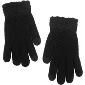 New York Accessory Honeycomb Touch Magic Gloves