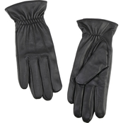 New York Accessory Top Stitch Leather Gloves