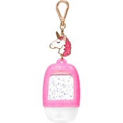 Bath & Body Works Pocketbac Clip Pink Unicorn Charm