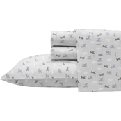 Ellen DeGeneres Augie and Friends Grey Sheet Set