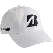 Bridgestone Golf White Tour Caps