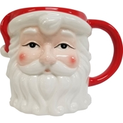 Gibson Home Jolly Santa Mug