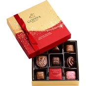 Godiva's Limited Edition Holiday Chocolate Collection 9 pc. Assorted