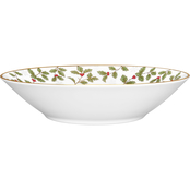 Noritake Holly and Berry Gold Soup Bowl 12 oz.