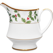 Noritake Holly & Berry Gold Creamer