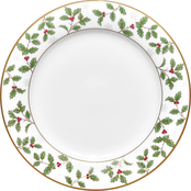 Noritake Holly & Berry Gold Salad Plate