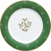 Noritake Holly & Berry Gold Accent Plate
