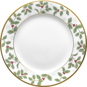 Noritake Holly & Berry Gold Bread & Butter/Appetizer Plate