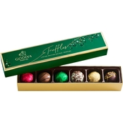 Godiva Holiday Truffle Gift Box 6 pc.