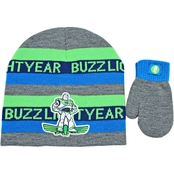 Disney Boys Toy Story Hat and Mitten Set