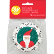 Wilton Cup Standard Santa Beard Baking Cups 75 ct.
