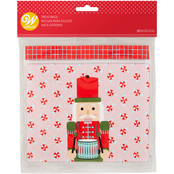 Wilton Resealable Nutcracker Treat Bags 20 ct.