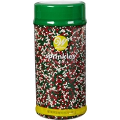 Wilton Christmas Sprinkles Jar