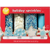 Wilton Christmas Sprinkles Winter 4 pk. Mega Set