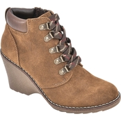 White Mountain Women's Liberty Wedge Booties
