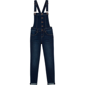 YMI Jeans Front Buttom Overalls
