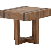 Kathy Ireland Home Brooklyn Walk Collection End Table