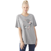 Rebellious One Juniors Moon and Sun Screen Tee