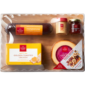 Hickory Farms Savory Snacks and Board Gift Set