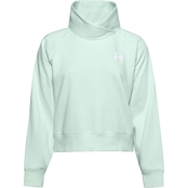 Under Armour Rival Fleece Wrap Neck Pullover