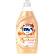 Dawn Ultra Gentle Clean Peach Almond Dishwashing Liquid Dish Soap 16.2 oz.