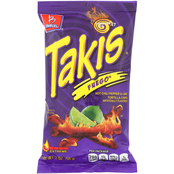 Barcel Takis Fuego Hot Chili Pepper & Lime Tortilla Chips 2 oz., 42 pk.